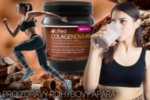 Colagenova HA s obsahem kyseliny hyaluronové ExceptionHyal® a hydrolyzovaného kolagenu Peptan® má příznivé účinky i pro naše klouby a celý pohybový aparát. Nyní si tento doplněk stravy a pitný režim vychutnáte i s čokoládovou příchutí.