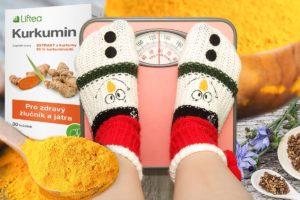 Doplněk stravy Liftea Kurkumin díky obsahu kvalitní rozpustné vlákniny – inulinu z čekanky podporuje hubnutí a je užitečný při redukci tělesné hmotnosti.