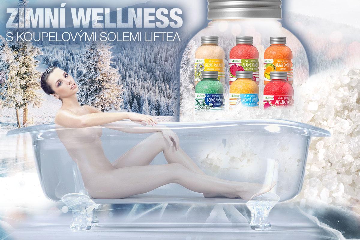 Dopřejte si zimní wellness s koupelovými solemi Liftea. Novinku v sortimentu značky nabízí hned šest unikátních aromatických směsí.