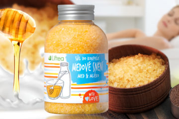 Liftea Sůl do koupele Medové snění