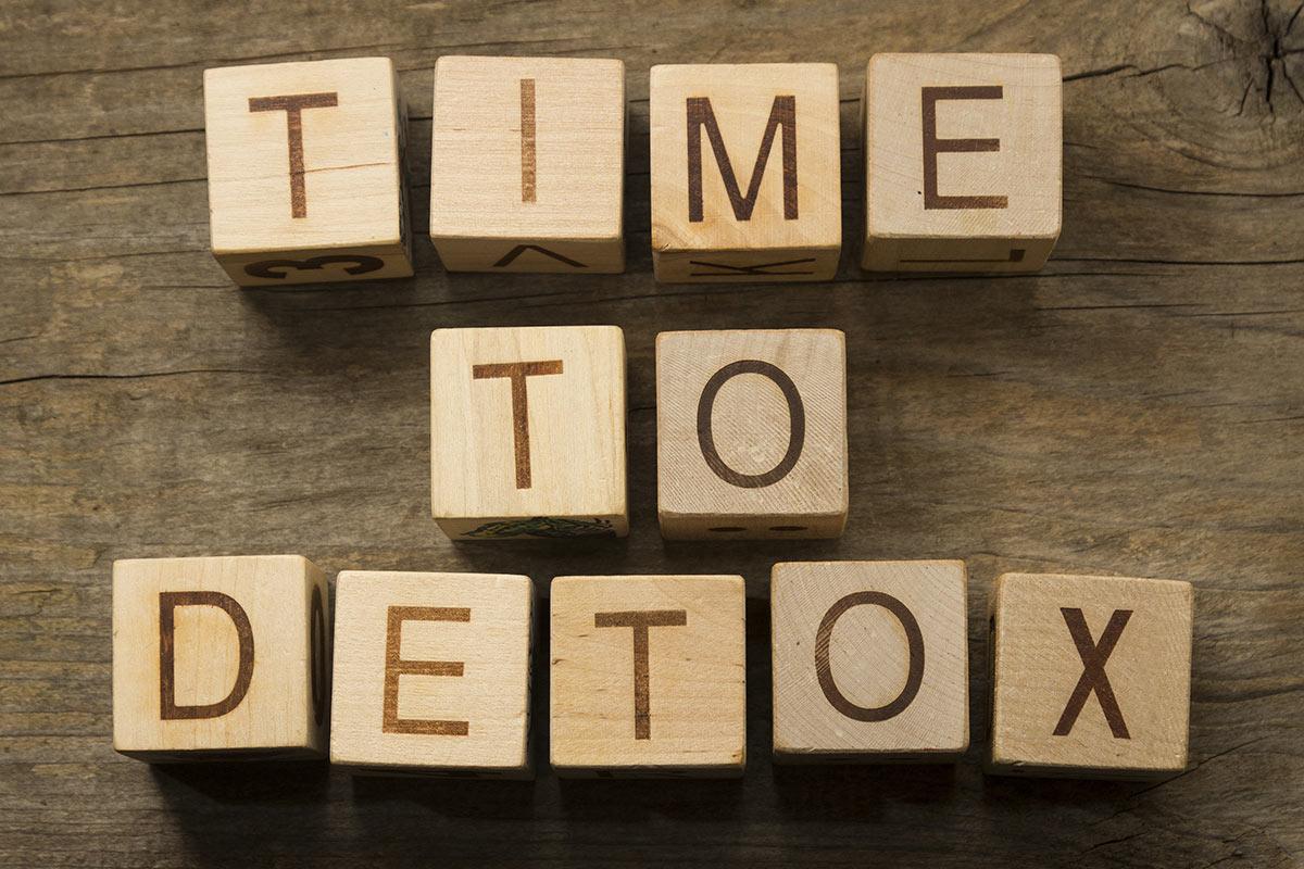 Jaro – to je čas na detoxikaci.