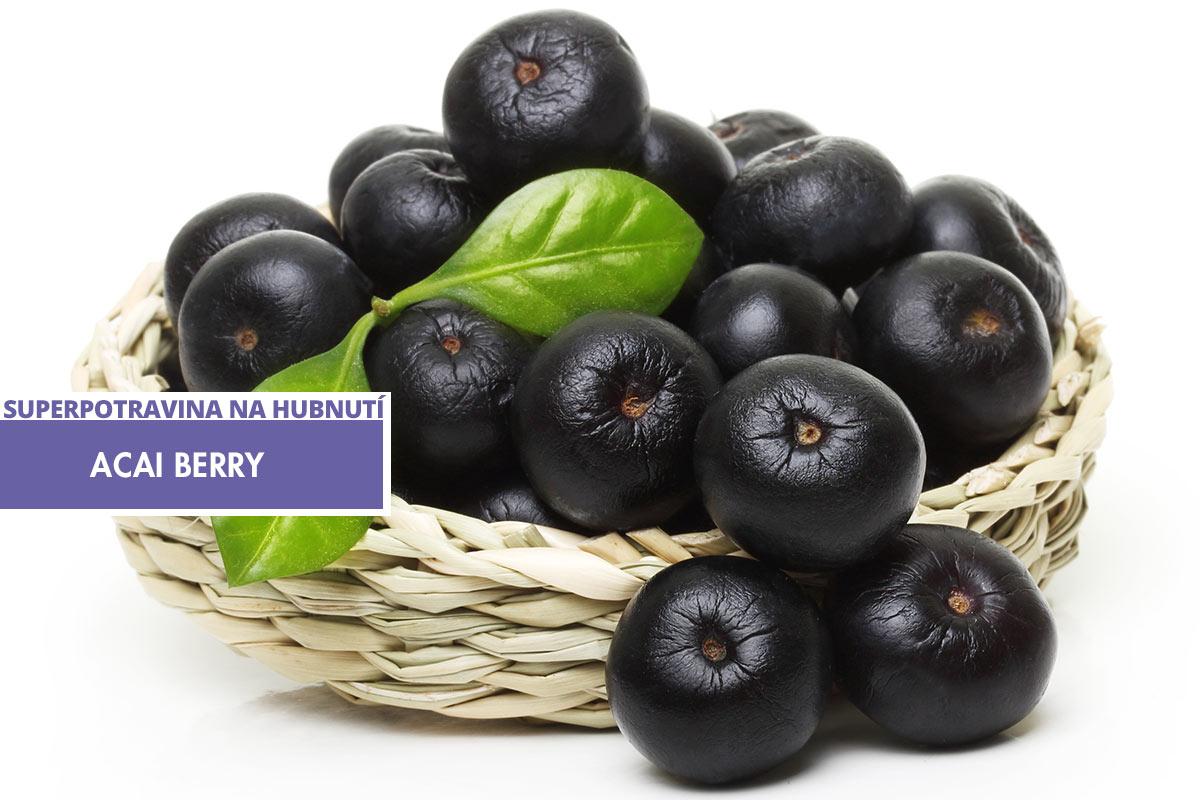Acai Berry – jedna ze superpotravin na hubnutí.
