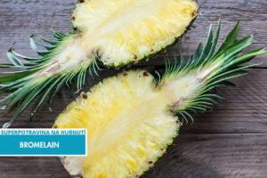Bromelain z ananasu – jedna ze superpotravin na hubnutí.